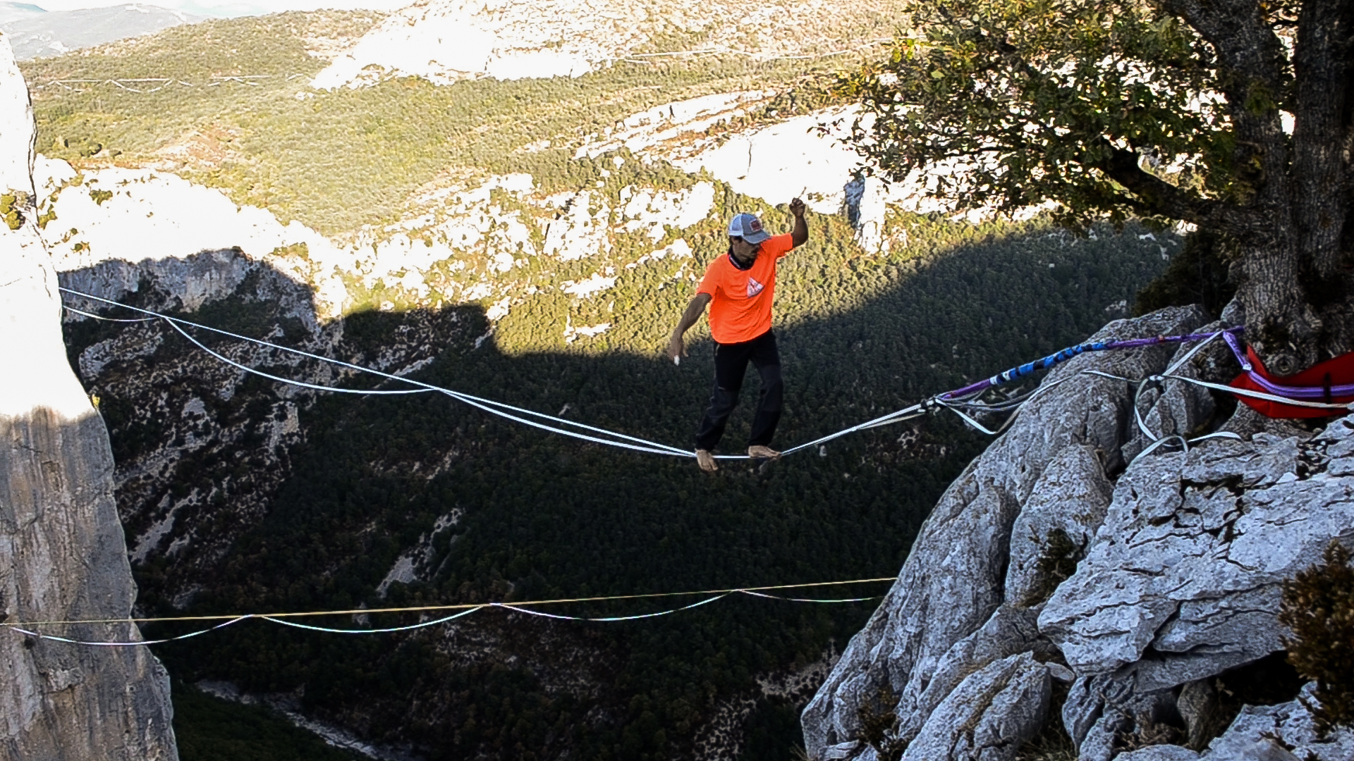 slackline highline friedi kühne free solo world record weltrekord no safety