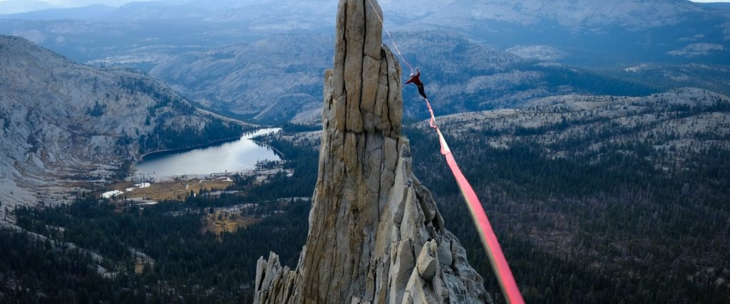 slackline highline friedi kühne yosemite high country
